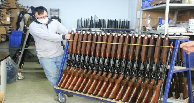 Huğlu'dan ABD'ye 11 milyon dolarlık av tüfeği ihracatı