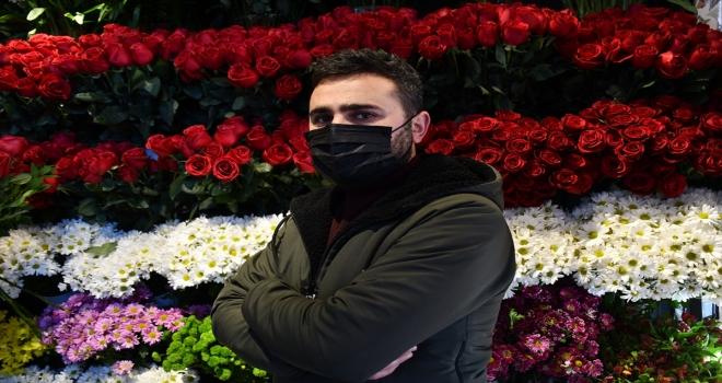 İç Anadolu'da çiçekçiler
