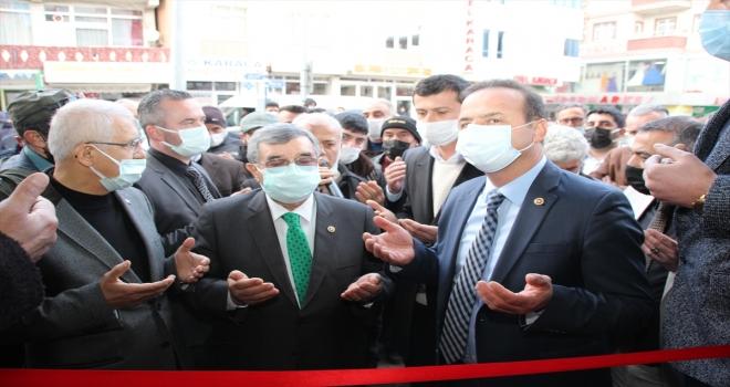 İYİ Parti Genel Başkan Yardımcısı Yavuz Ağıralioğlu, Suşehri'nde