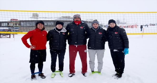 Kar Voleybolu Kadın Milli Takımı'nın hedefi Avrupa'da şampiyonluk