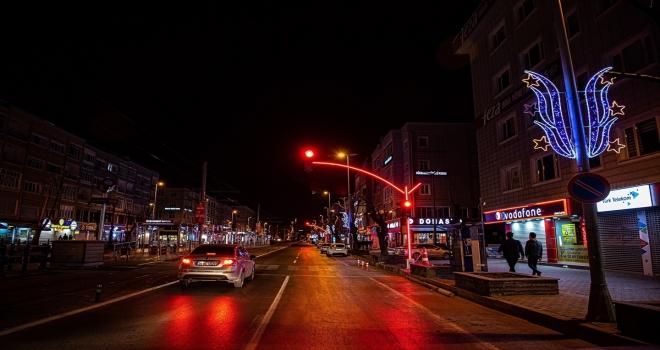 Kayseri Büyükşehir Belediyesinden sinyalizasyon sistemine estetik dokunuş