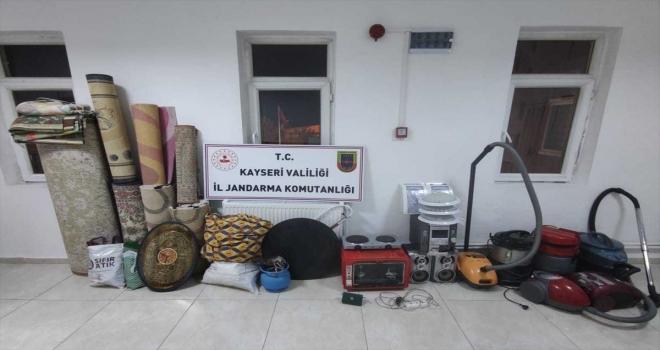 Kayseri'de 8 hırsızlık olayının 2 şüphelisi yakalandı
