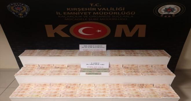 Kırşehir'de sahte parayla yakalanan şüpheli tutuklandı