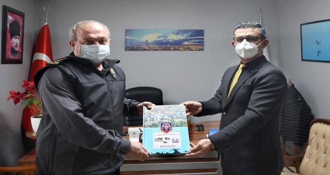 Konya Emniyet Müdürü Aydın, AA Konya Bölge Müdürlüğünü ziyaret etti