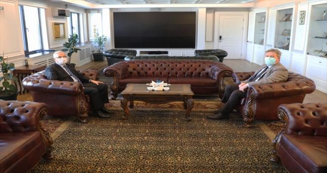 Melikgazi Belediye Başkanı Palancıoğlu'na ziyaret