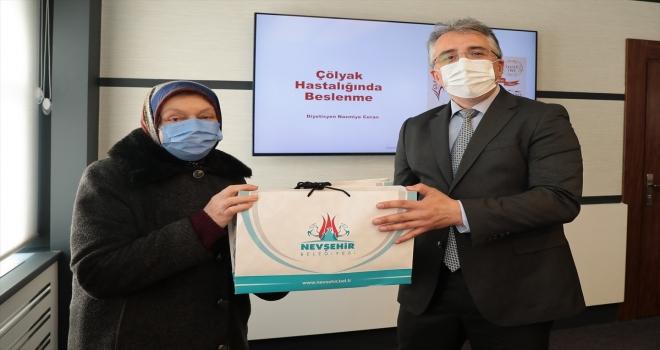 Nevşehir Belediyesinden çölyak hastalarına destek