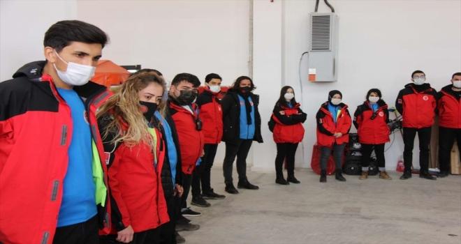 Sivas'ta AFAD gönüllülerini eğitim veriliyor