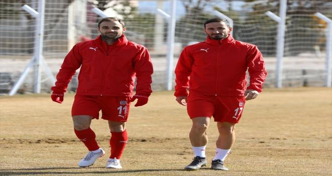 Sivasspor, Türkiye Kupası'ndaki Antalyaspor maçının hazırlıklarını sürdürdü