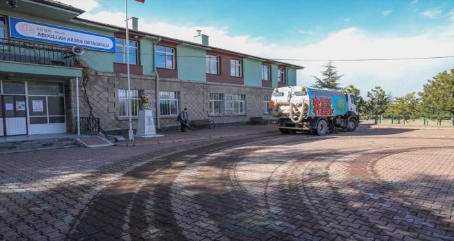 Talas Belediyesi okulları yüz yüze etiğime hazırladı