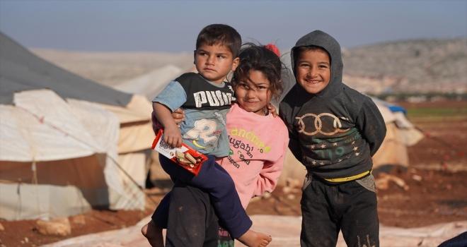 Türkiye Diyanet Vakfı yetim kamplarındaki yaklaşık 1500 çocuğun ihtiyaçlarını karşılıyor