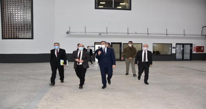 Vali Sezer'den Silah İhtisas OSB'ye ziyaret