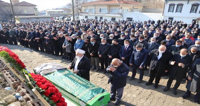 AK Parti Nevşehir Milletvekili Açıkgöz'ün vefat eden babasının cenazesi toprağa verildi