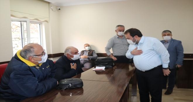 Akseki'de muhtarlar toplantısı düzenlendi
