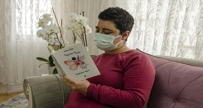 Ankara'da kanser hastası genç kız yaşadıklarını kitap haline getirdi