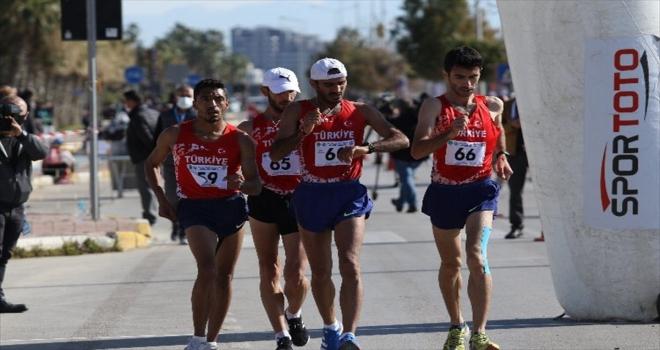 Antalya'da yapılan 20. Balkan Yürüyüş Şampiyonası, sona erdi