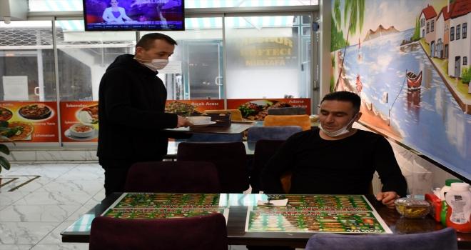 Konya ve Aksaray'da yüzde 50 kapasiteli çalışma uygulaması esnafı memnun etti