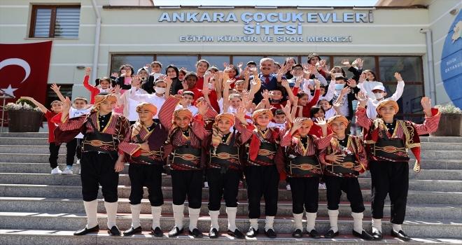 Ankara Sevgi Evleri Sitesi'nde 23 Nisan Ulusal Egemenlik ve Çocuk Bayramı kutlandı