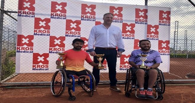 Antalya'da düzenlenen uluslararası tekerlekli sandalye tenis turnuvaları tamamlandı