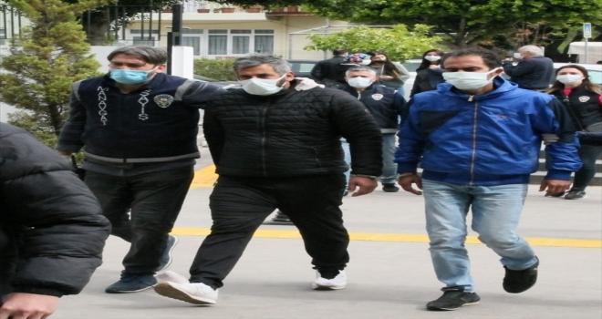 Antalya'da telefonla dolandırıcılık iddiasıyla yakalanan 3 şüpheli tutuklandı