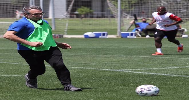 Antalyaspor, Fatih Karagümrük karşılaşmasının hazırlıklarını sürdürdü