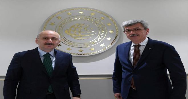Beypazarı Belediye Başkanı Kaplan ile milletvekilleri Bakan Karaismailoğlu'nu ziyaret etti
