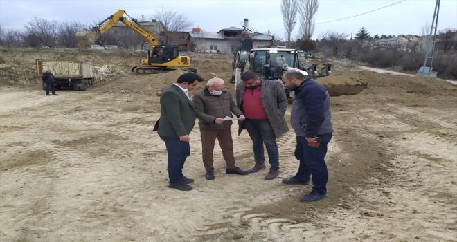 Bozkır'da bal dolum ve paketleme tesisi inşaatına başlandı