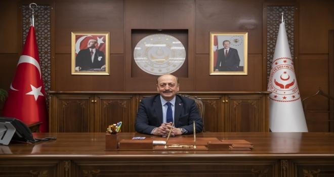 Çalışma ve Sosyal Güvenlik Bakanı Bilgin'den 23 Nisan Ulusal Egemenlik ve Çocuk Bayramı mesajı: