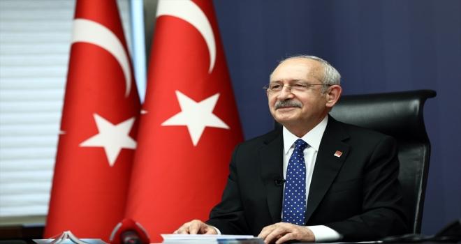 CHP Genel Başkanı Kılıçdaroğlu esnaf çocukları ile çevrim içi ortamda görüştü: