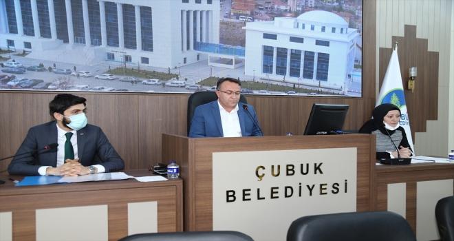 Çubuk Belediye Başkanlığı faaliyet raporu onaylandı