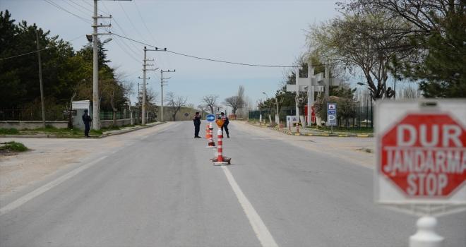 Eskişehir'de 2 mahalle Kovid-19 nedeniyle karantinaya alındı