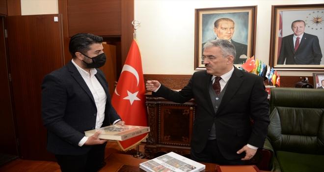 Eskişehir Valisi Erol Ayyıldız, Anadolu Ajansı muhabirlerini kabul etti