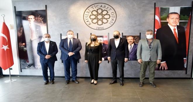 Hırvatistan'ın Ankara Büyükelçisi Cvitanovic'ten KTO'ya ziyaret