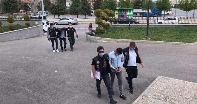 Karaman'da uyuşturucu ticareti yaptığı iddia edilen kişi tutuklandı