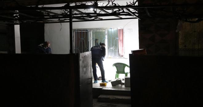 Kayseri'de bir eve silahlı saldırıda mermi isabet eden kişi yaralandı