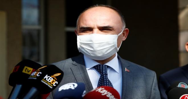 Kayseri Valisi Şehmus Günaydın, sokağa çıkma kısıtlamasından muaf kişileri uyardı: