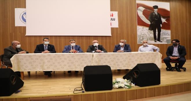 KAYÜ Seyrani kampüsü girişi ve nizamiye binası yapımı için protokol imzalandı