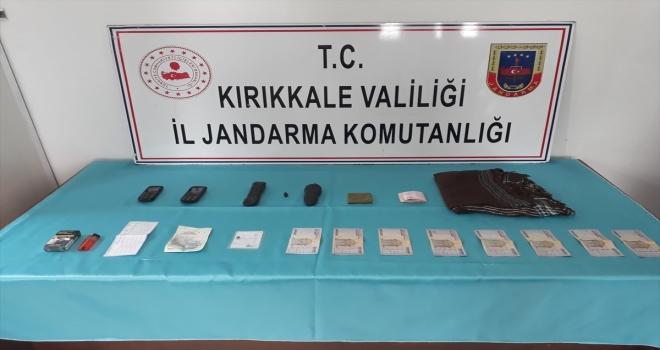 Kırıkkale'de üzerinde uyuşturucu ele geçirilen yabancı uyruklu kişi gözaltına alındı