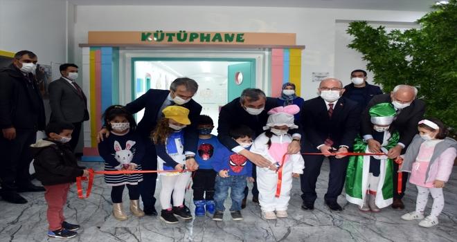 Kırıkkale KOP Bebek ve Çocuk Kütüphanesi açıldı