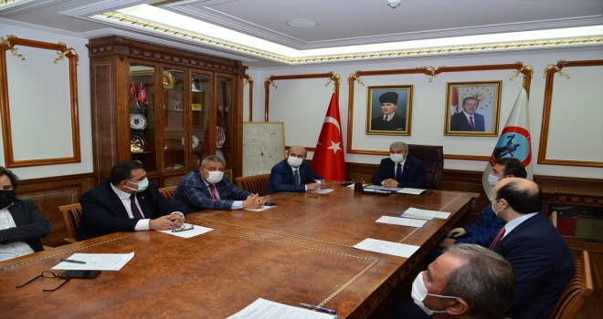 Kırşehir İl İstihdam ve Mesleki Eğitim Kurulu Toplantısı yapıldı