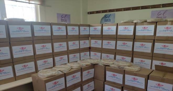 Kızılcahamam'da ihtiyaç sahipleri için yardım kampanyası başlatıldı