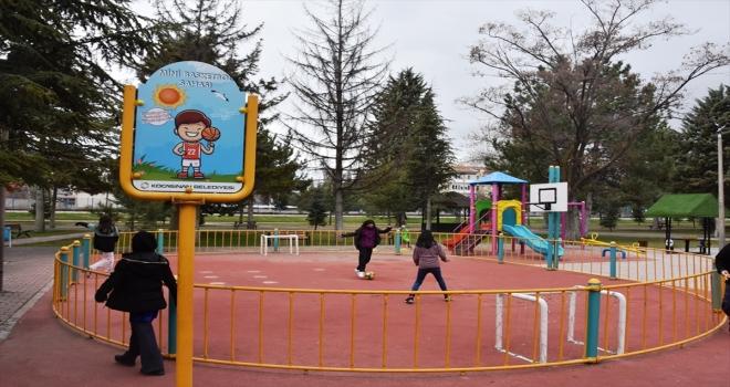 Kocasinan Belediyesinden 3-6 yaş grubu çocuklara özel park