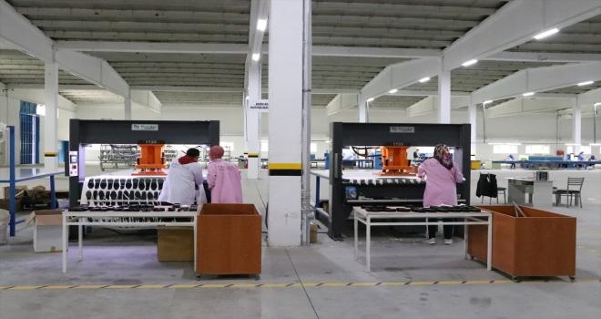 KOSGEB desteğiyle kurulan fabrikada üretilen ayakkabılar Avrupa'ya ihraç ediliyor