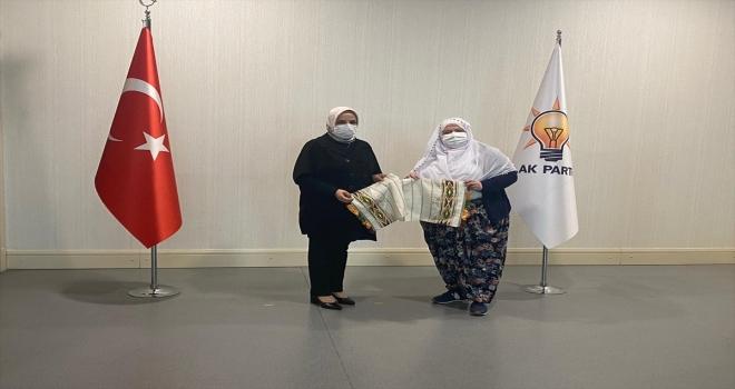 Mihalgazi Belediye Başkanı Akgün, AK Parti Genel Merkez Kadın Kolları Başkanı Keşir'i ziyaret etti