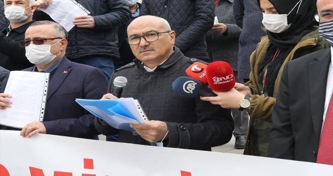 Nevşehir, Kayseri ve Sivas'ta bazı emekli amirallerin açıklamasına ilişkin suç duyurusunda bulunuldu