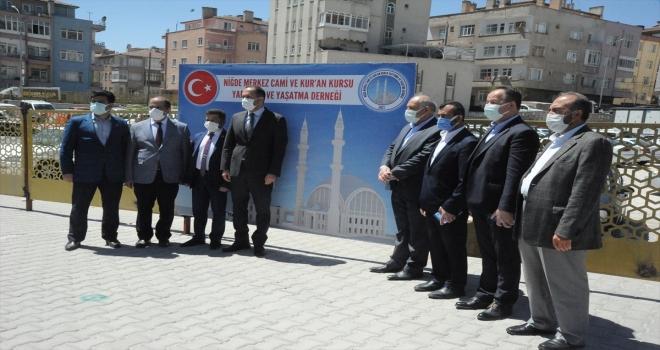 Niğde'ye 2 bin 300 kişilik Merkez Cami yapılacak