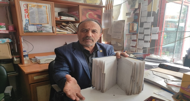 Seydişehir'de bir hayırsever, veresiye defterindeki 5 bin liralık borcu kapattı.