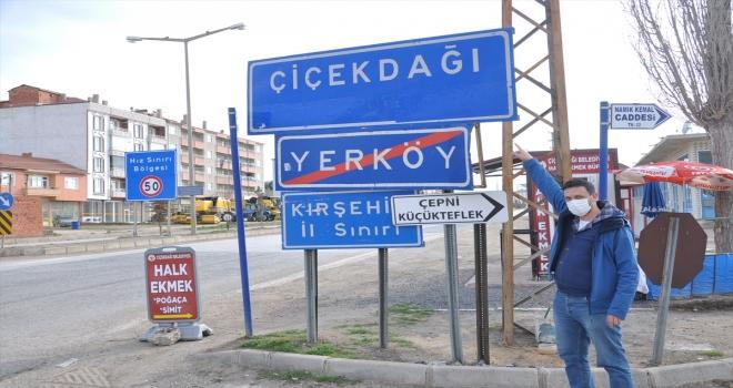 Sınırları yol ile ayrılan komşu iki ilçede farklı Kovid-19 tedbirleri uygulanıyor