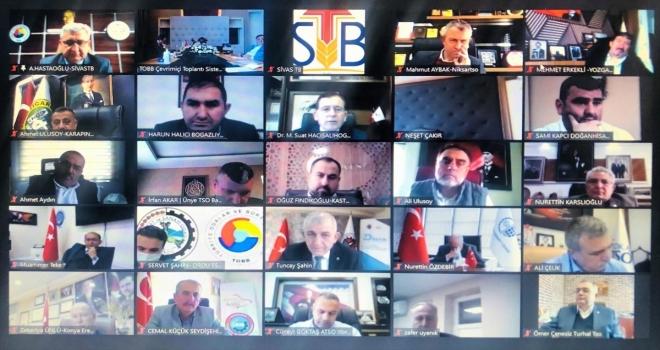 Sivas'ın sorunları TOBB Başkanı Rifat Hisarcıklıoğlu'na iletildi