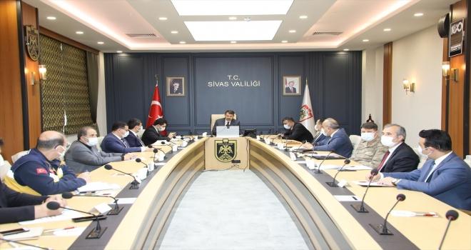 Sivas'ta kontrol noktaları ve denetim sayıları artırılacak