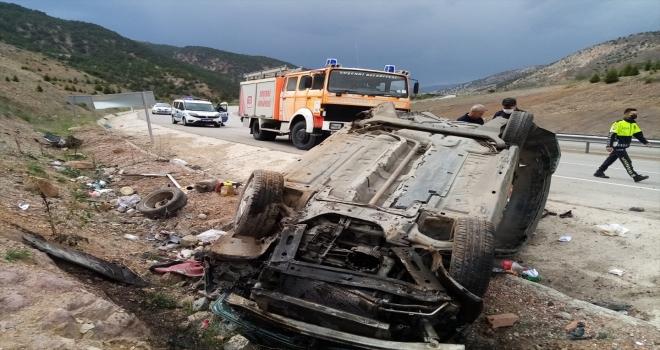 Sivas'ta trafik kazaları: 7 yaralı